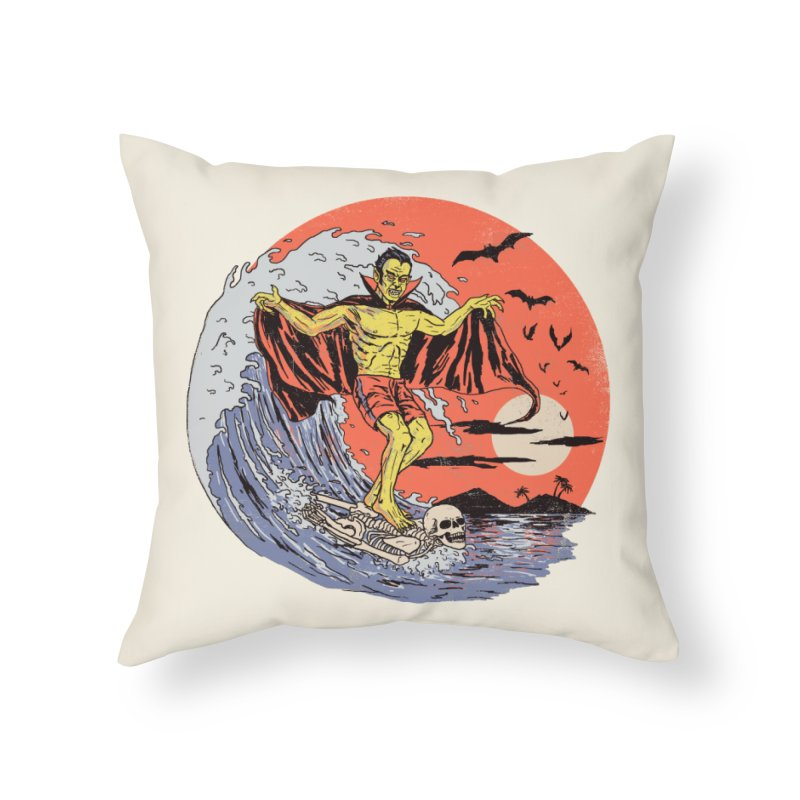 Body Surfer Home Throw Pillow by Hillary White