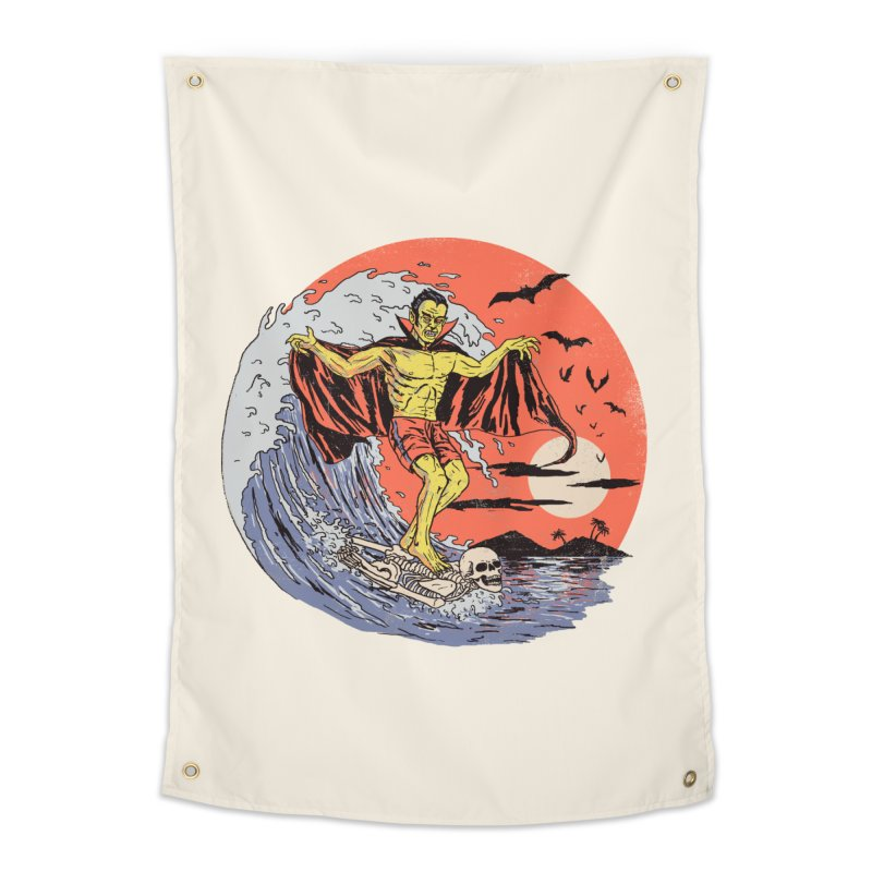 Body Surfer Home Tapestry by Hillary White