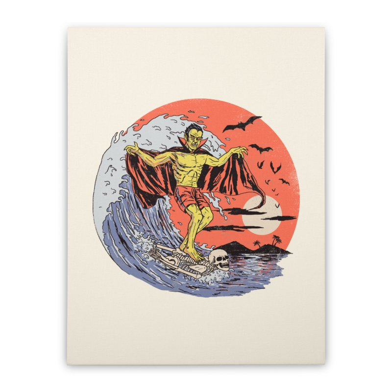 Body Surfer Home Stretched Canvas by Hillary White