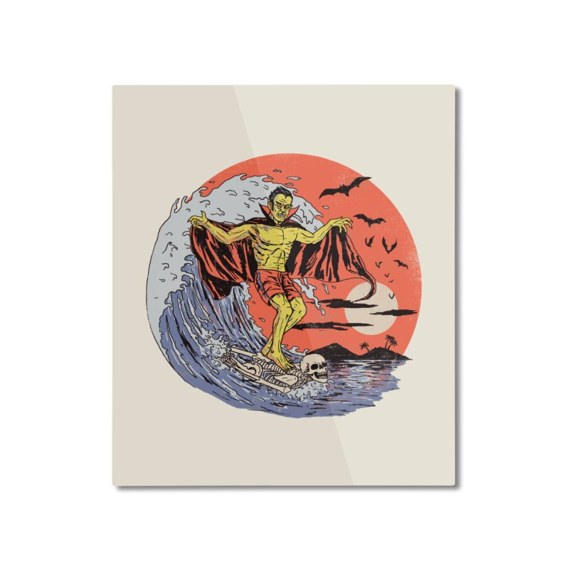 Body Surfer Home Mounted Aluminum Print by Hillary White