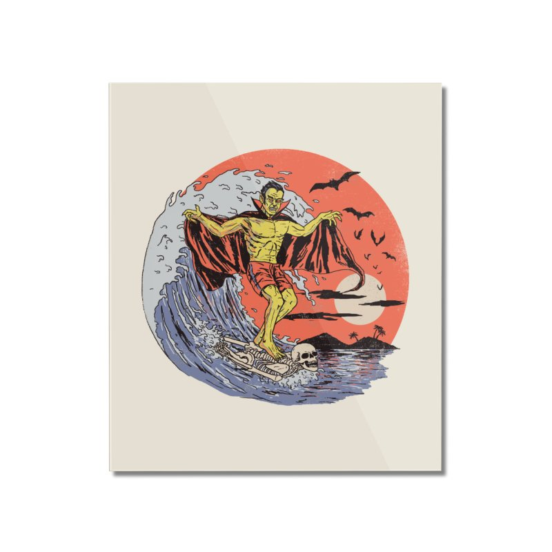 Body Surfer Home Mounted Acrylic Print by Hillary White