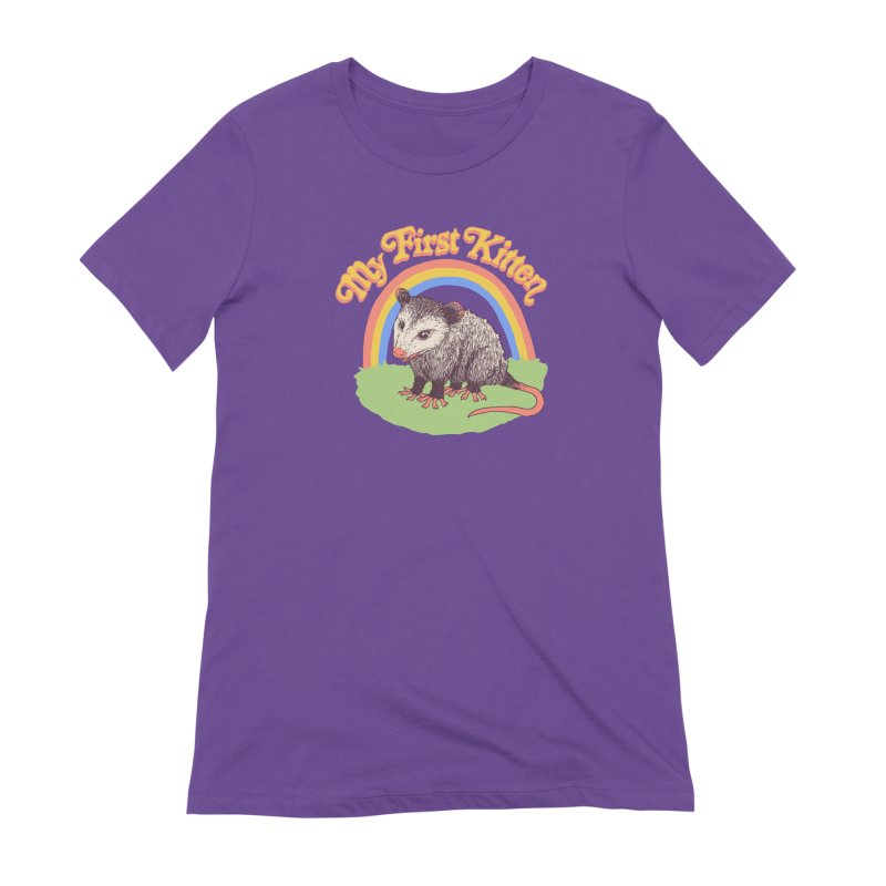 My First Kitten Women's Extra Soft T-Shirt by Hillary White