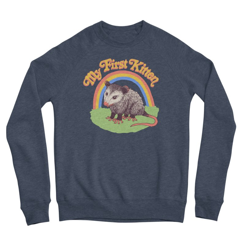 My First Kitten Men's Sponge Fleece Sweatshirt by Hillary White