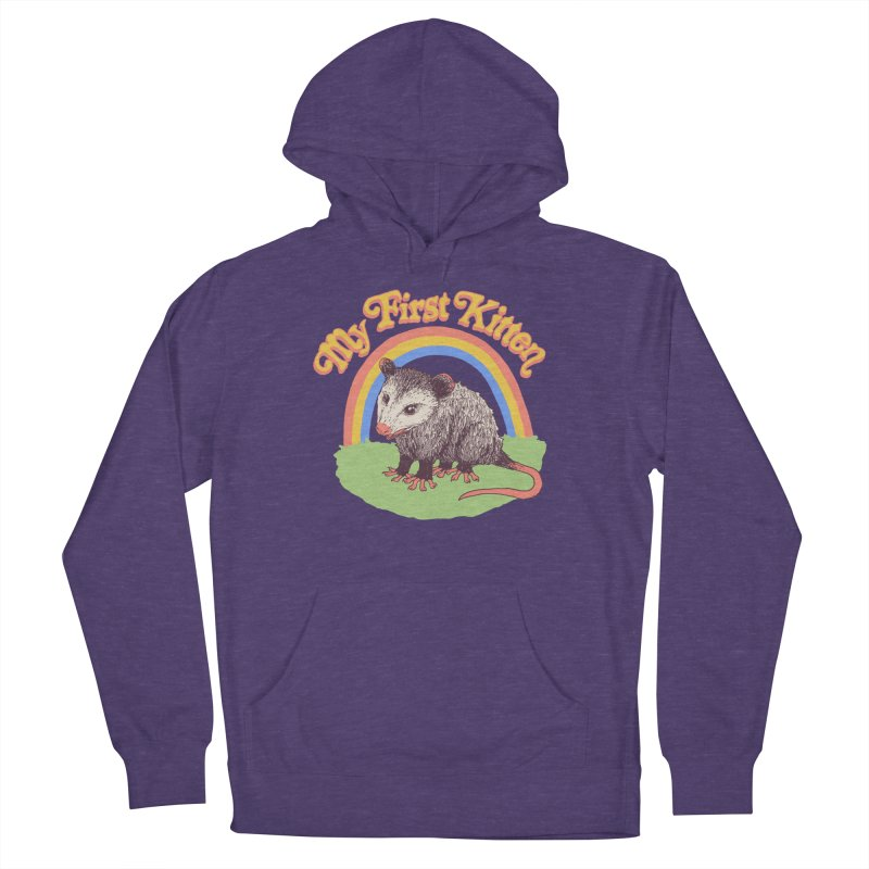 My First Kitten Women's French Terry Pullover Hoody by Hillary White