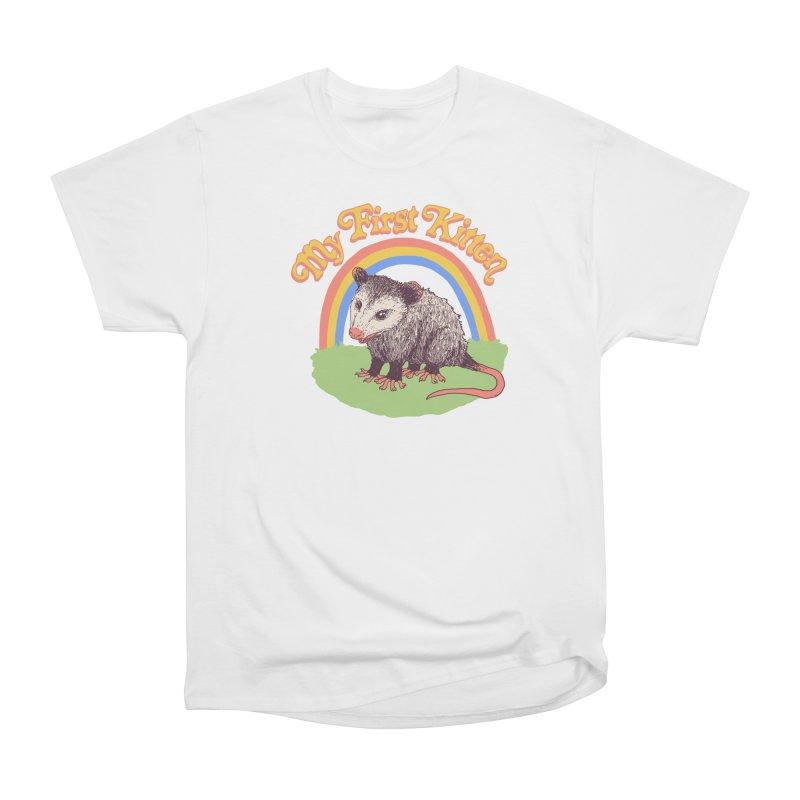 My First Kitten Women's Heavyweight Unisex T-Shirt by Hillary White