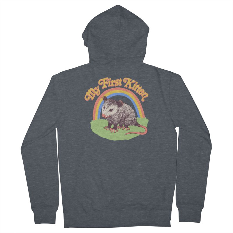 My First Kitten Women's French Terry Zip-Up Hoody by Hillary White
