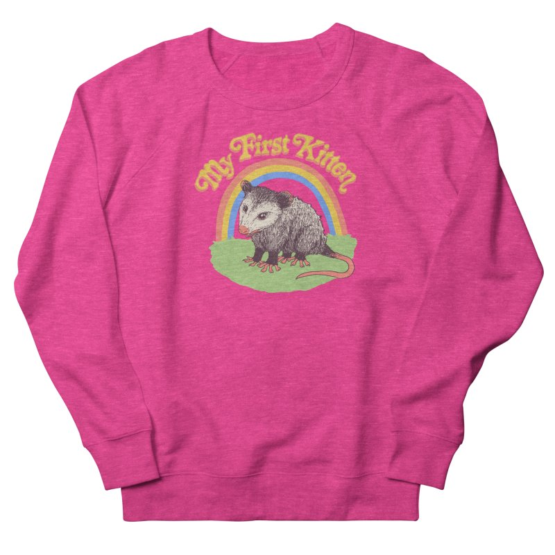 My First Kitten Women's French Terry Sweatshirt by Hillary White