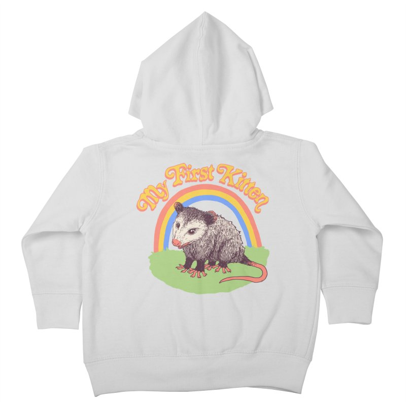 My First Kitten Kids Toddler Zip-Up Hoody by Hillary White