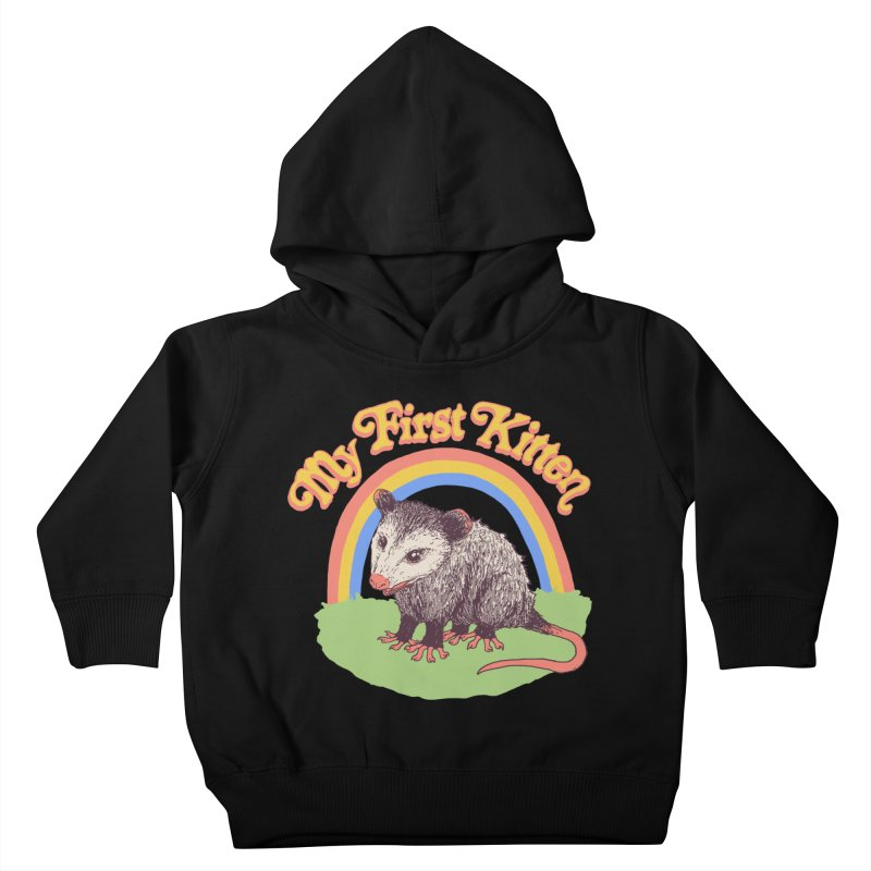 My First Kitten Kids Toddler Pullover Hoody by Hillary White