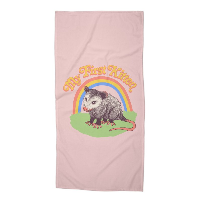 My First Kitten Accessories Beach Towel by Hillary White
