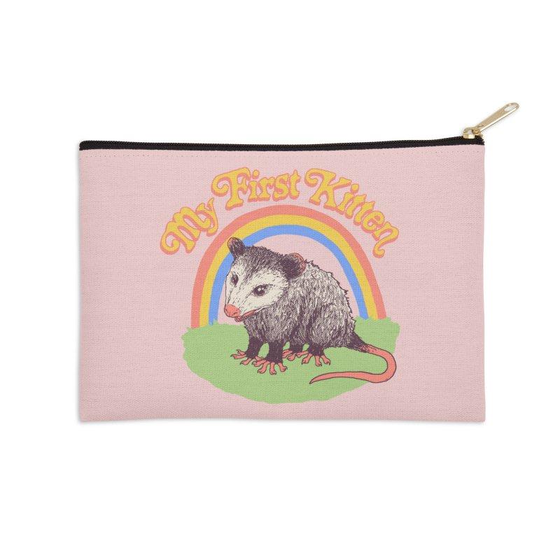 My First Kitten Accessories Zip Pouch by Hillary White