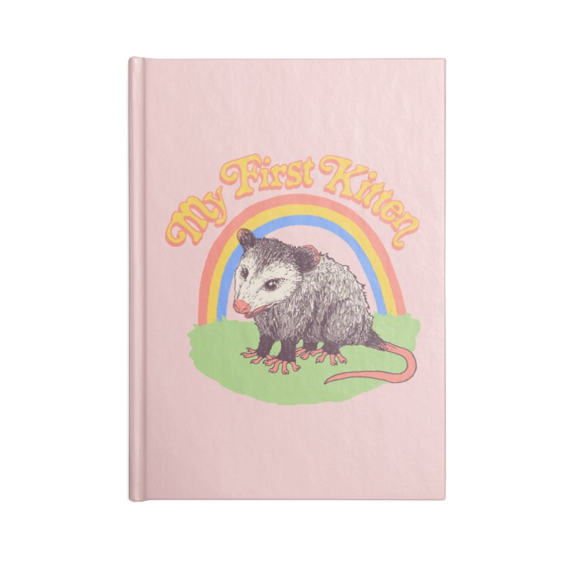 My First Kitten Accessories Lined Journal Notebook by Hillary White
