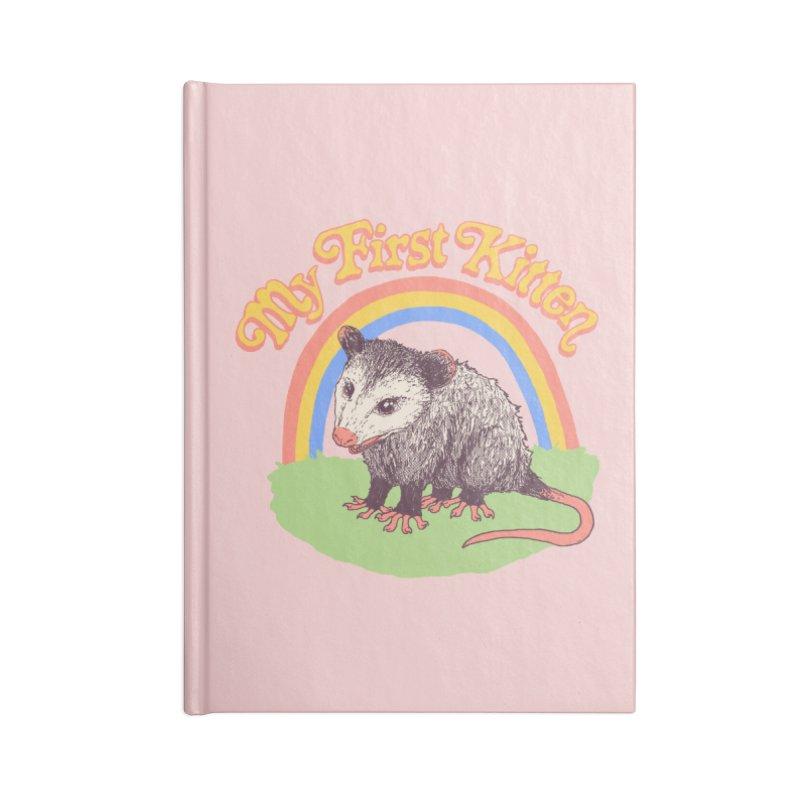 My First Kitten Accessories Blank Journal Notebook by Hillary White