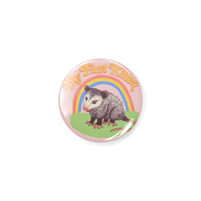 My First Kitten Accessories Button by Hillary White