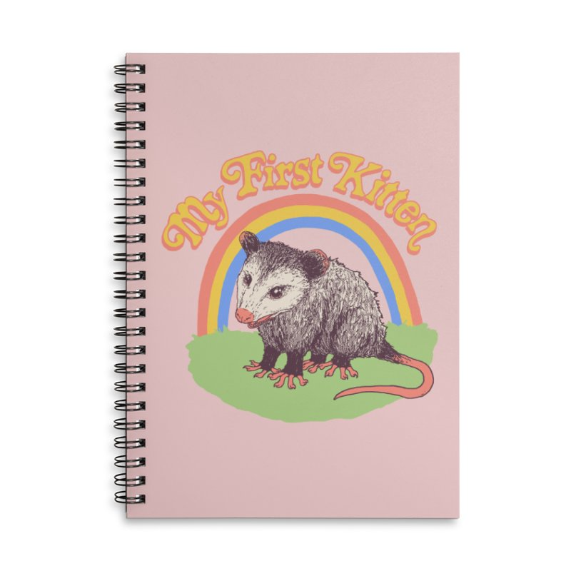 My First Kitten Accessories Lined Spiral Notebook by Hillary White