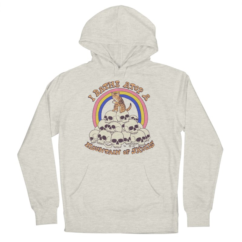 Bathe Atop A Mountain Of Skulls Women's French Terry Pullover Hoody by Hillary White