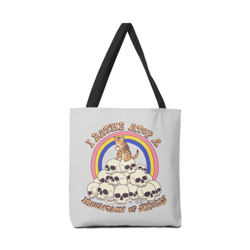 Bathe Atop A Mountain Of Skulls Accessories Tote Bag Bag by Hillary White