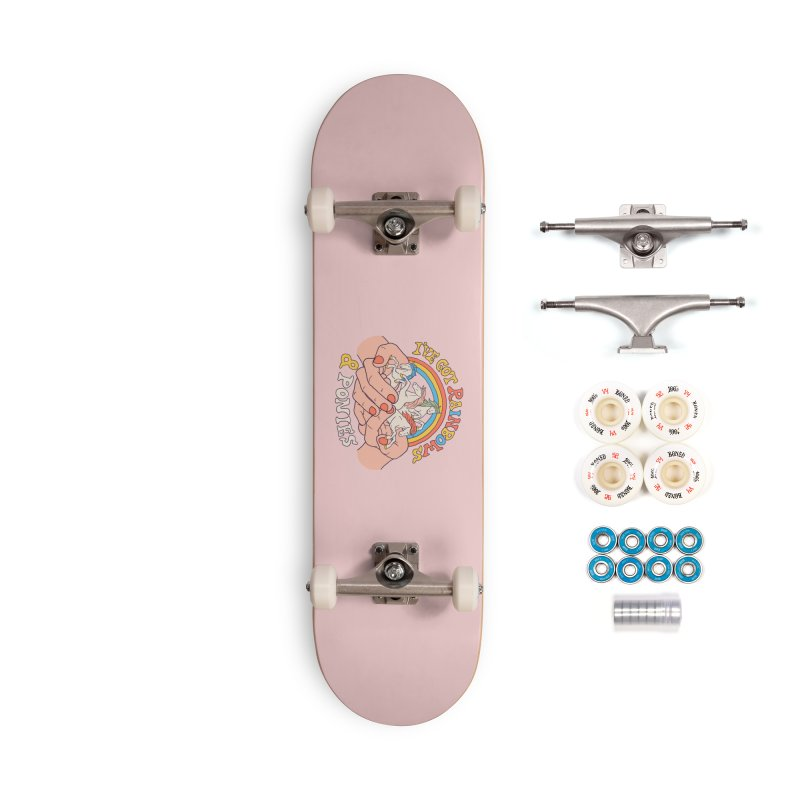 I've Got Rainbows And Ponies Accessories Complete - Premium Skateboard by Hillary White