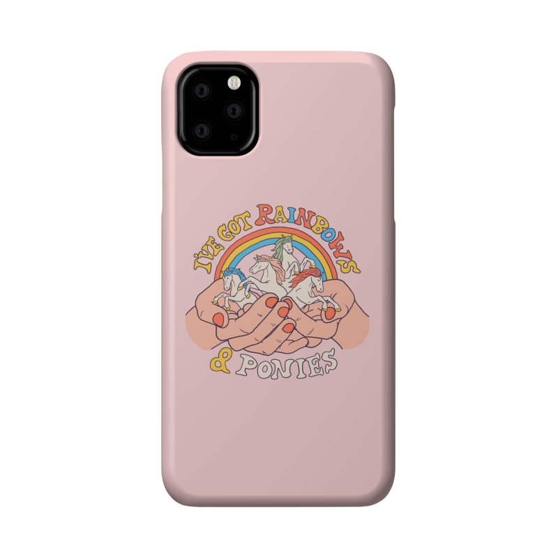 I've Got Rainbows And Ponies Accessories Phone Case by Hillary White