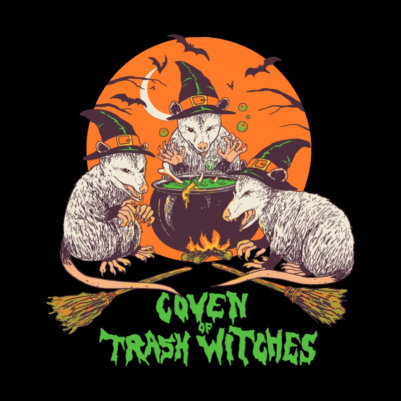 Coven Of Trash Witches Men's T-Shirt by Hillary White