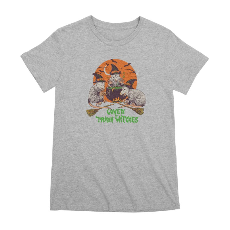 Coven Of Trash Witches Women's Premium T-Shirt by Hillary White