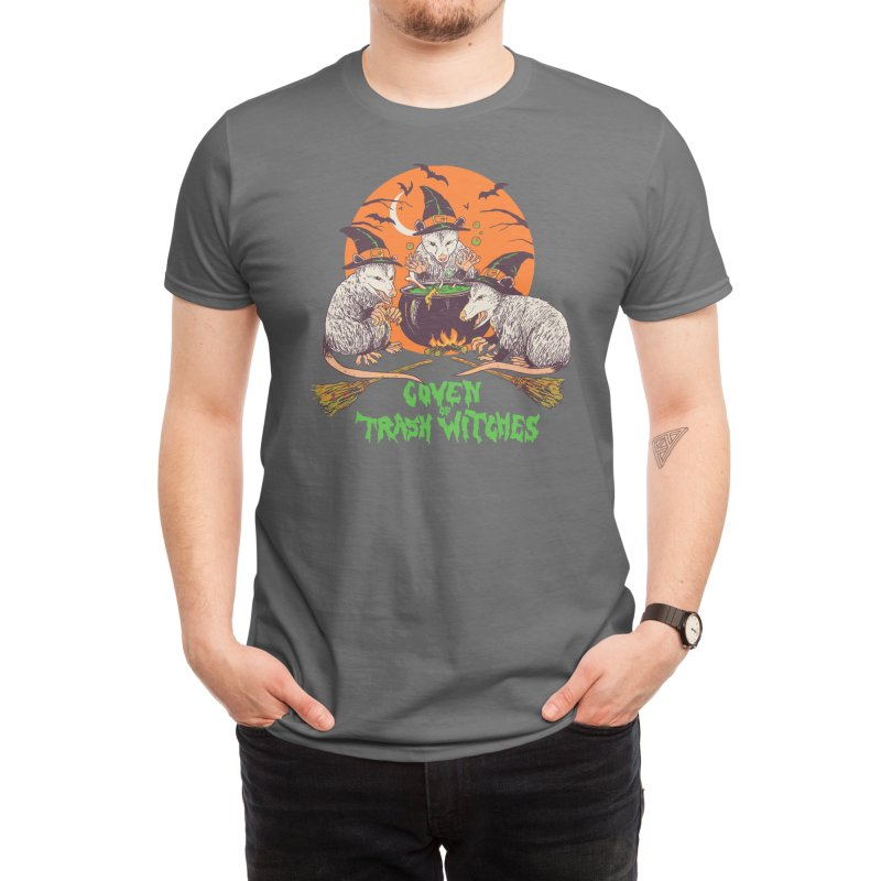 Coven Of Trash Witches Men's T-Shirt by Hillary White Rabbit