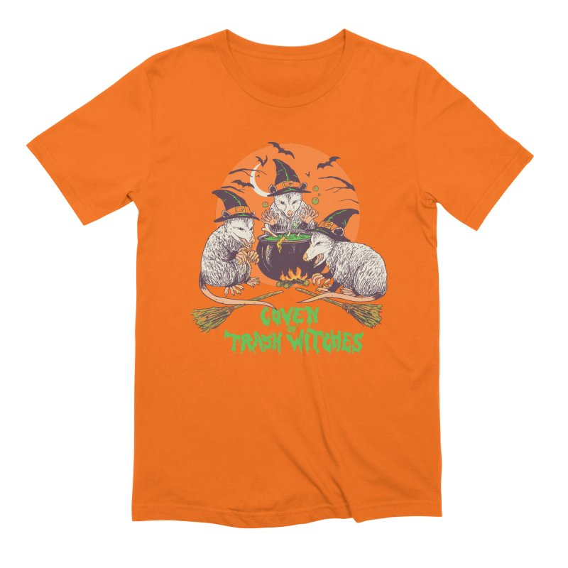 Coven Of Trash Witches Men's Extra Soft T-Shirt by Hillary White