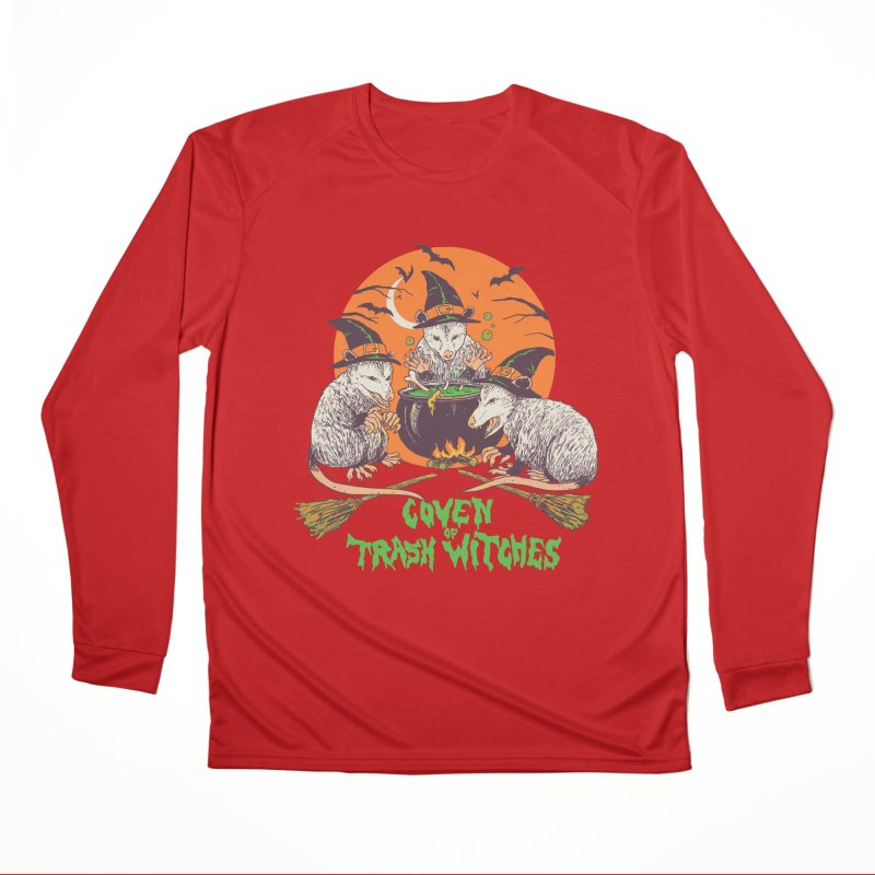 Coven Of Trash Witches Men's Performance Longsleeve T-Shirt by Hillary White