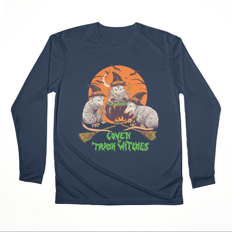 Coven Of Trash Witches Women's Performance Unisex Longsleeve T-Shirt by Hillary White