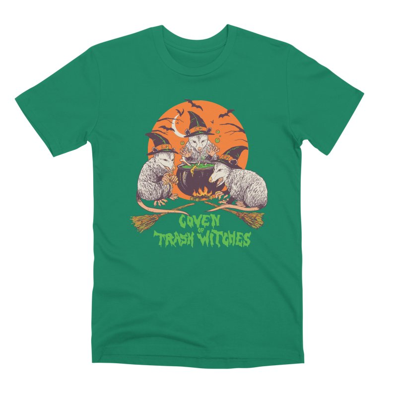 Coven Of Trash Witches Men's Premium T-Shirt by Hillary White