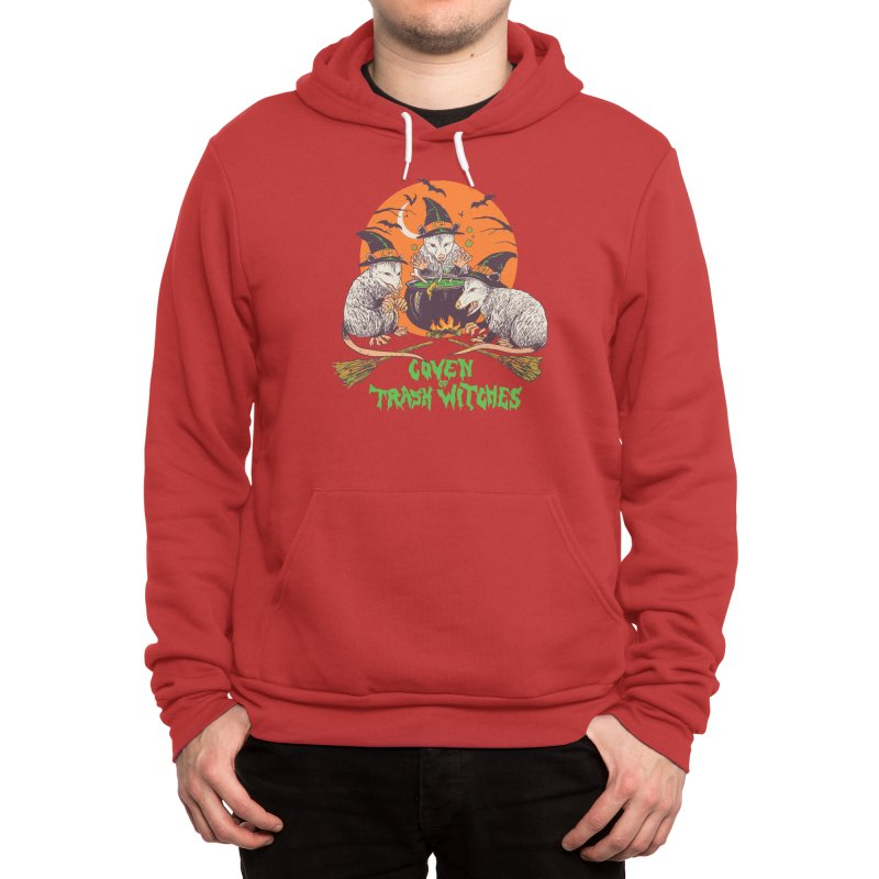 Coven Of Trash Witches Men's Pullover Hoody by Hillary White Rabbit