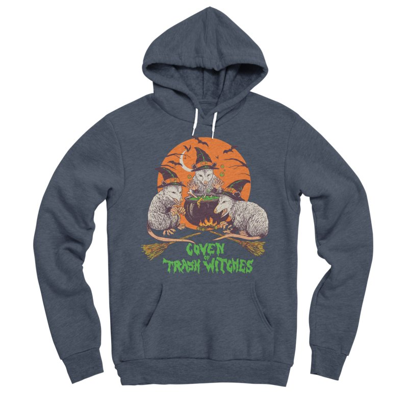Coven Of Trash Witches Women's Sponge Fleece Pullover Hoody by Hillary White