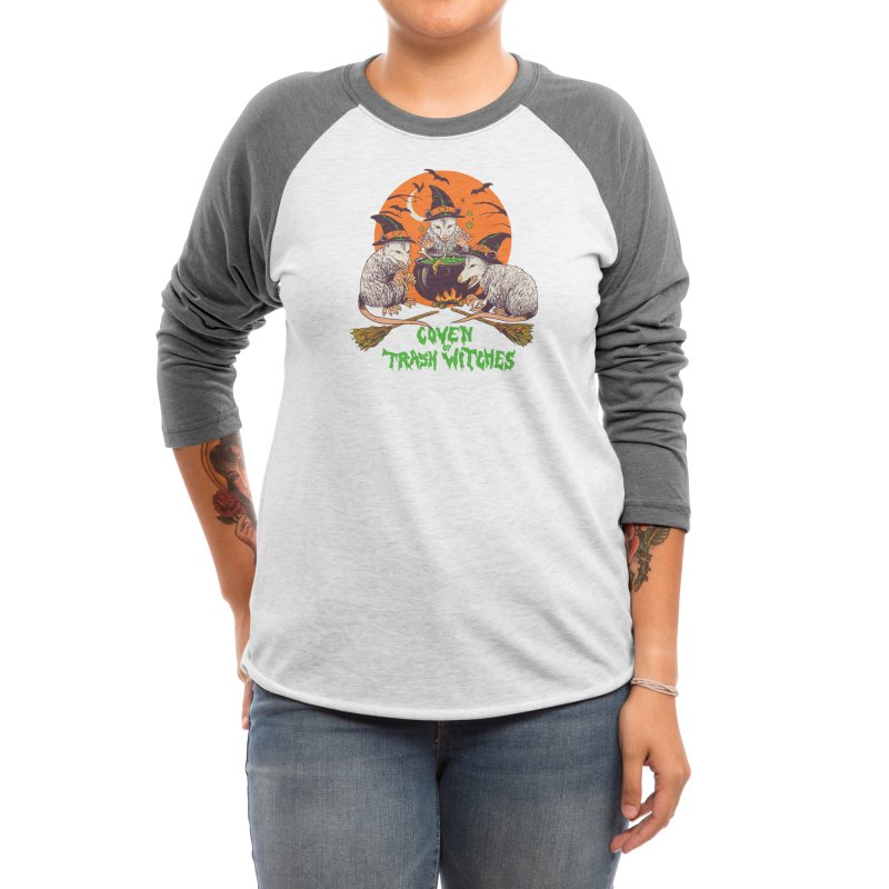 Coven Of Trash Witches Women's Longsleeve T-Shirt by Hillary White Rabbit