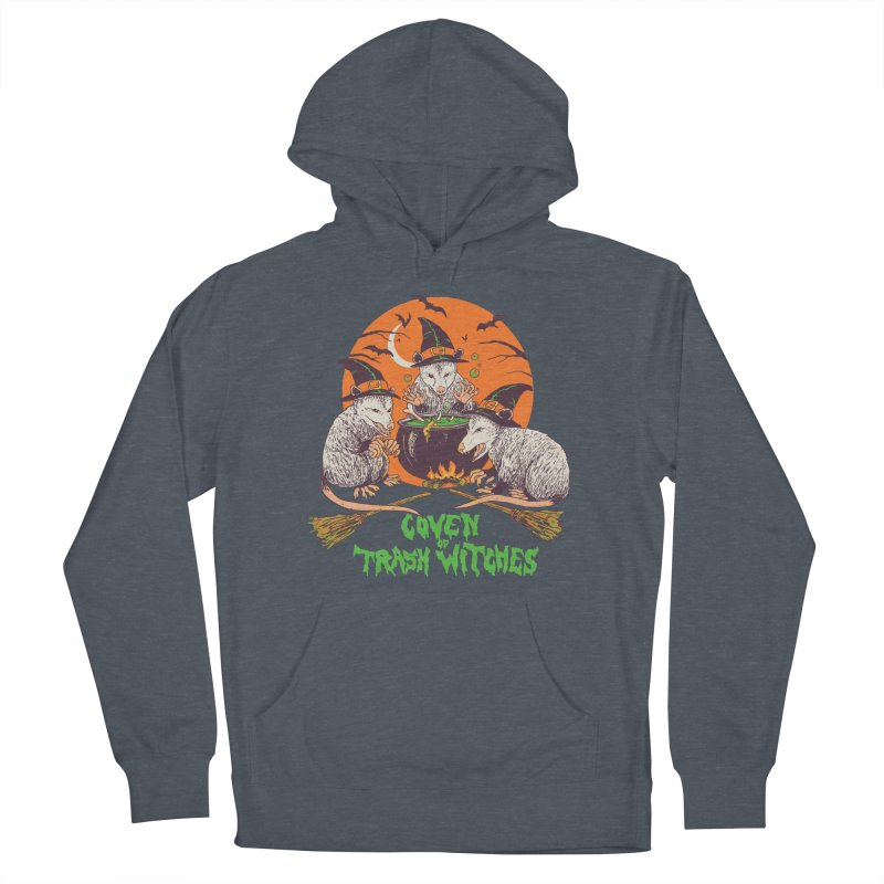 Coven Of Trash Witches Women's French Terry Pullover Hoody by Hillary White