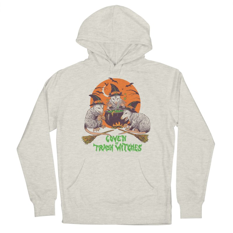 Coven Of Trash Witches Men's French Terry Pullover Hoody by Hillary White