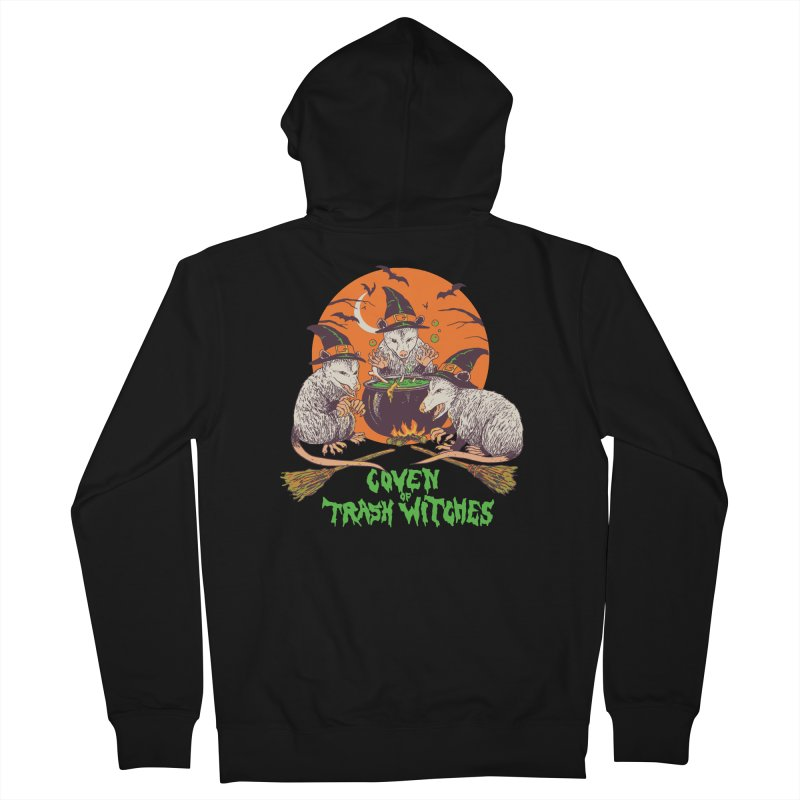 Coven Of Trash Witches Women's French Terry Zip-Up Hoody by Hillary White