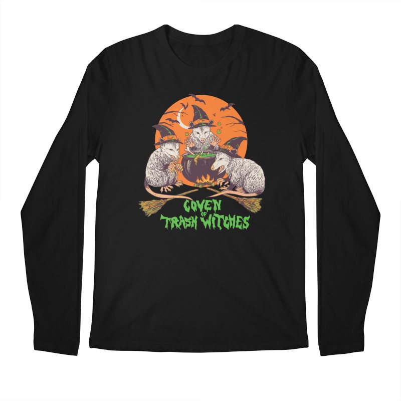 Coven Of Trash Witches Men's Regular Longsleeve T-Shirt by Hillary White