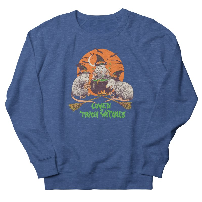 Coven Of Trash Witches Women's French Terry Sweatshirt by Hillary White