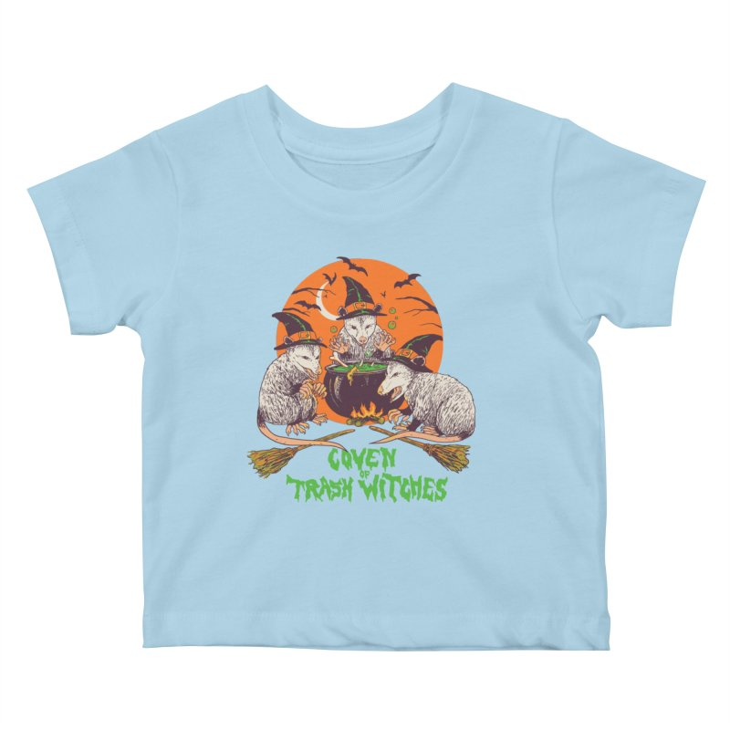 Coven Of Trash Witches Kids Baby T-Shirt by Hillary White