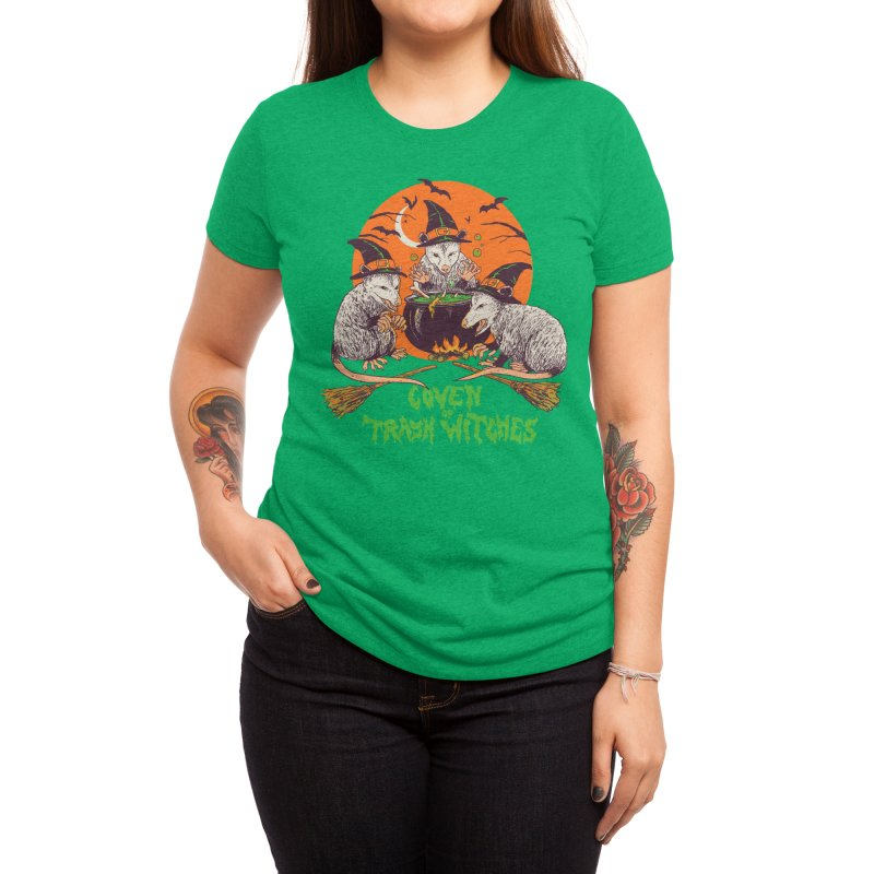Coven Of Trash Witches Women's T-Shirt by Hillary White Rabbit