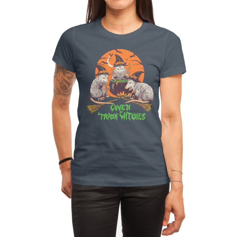 Coven Of Trash Witches Women's T-Shirt by Hillary White