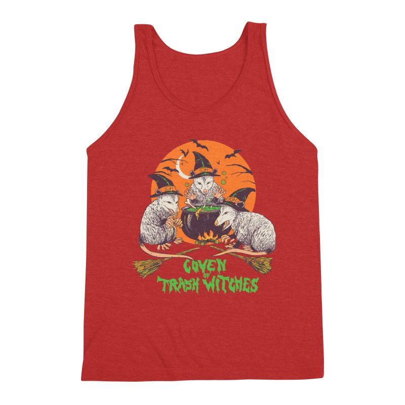 Coven Of Trash Witches Men's Triblend Tank by Hillary White