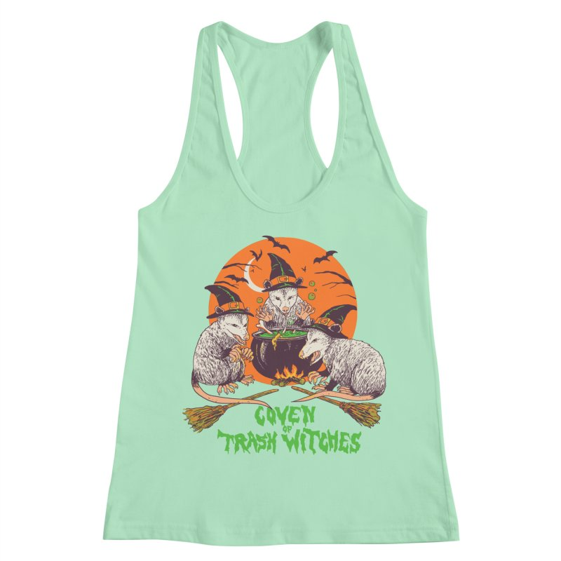 Coven Of Trash Witches Women's Racerback Tank by Hillary White
