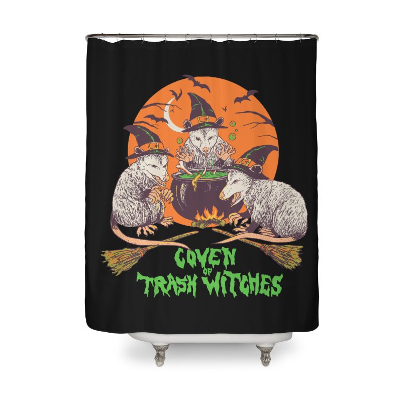 Coven Of Trash Witches Home Shower Curtain by Hillary White