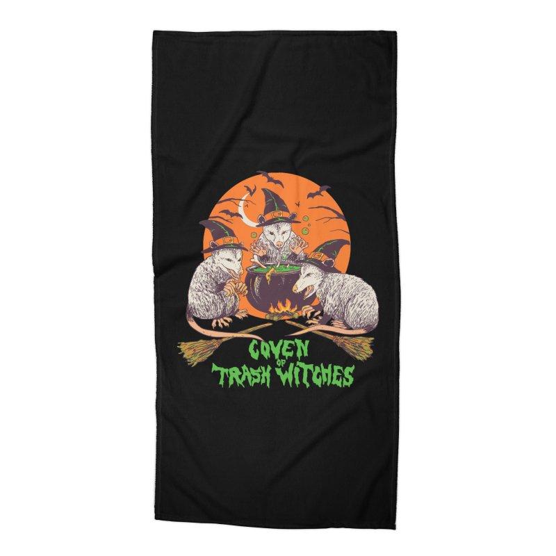 Coven Of Trash Witches Accessories Beach Towel by Hillary White