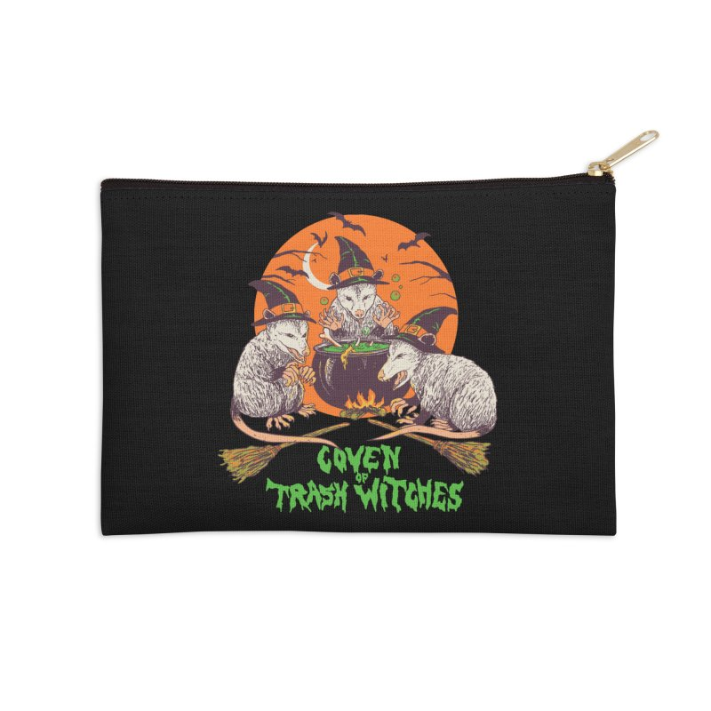 Coven Of Trash Witches Accessories Zip Pouch by Hillary White Rabbit