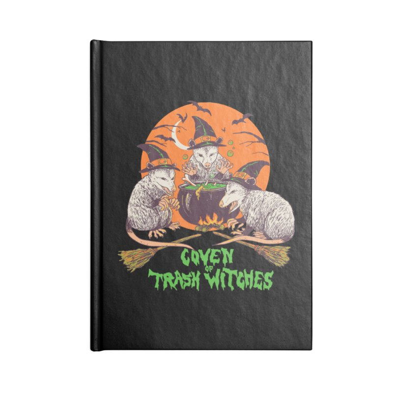 Coven Of Trash Witches Accessories Lined Journal Notebook by Hillary White