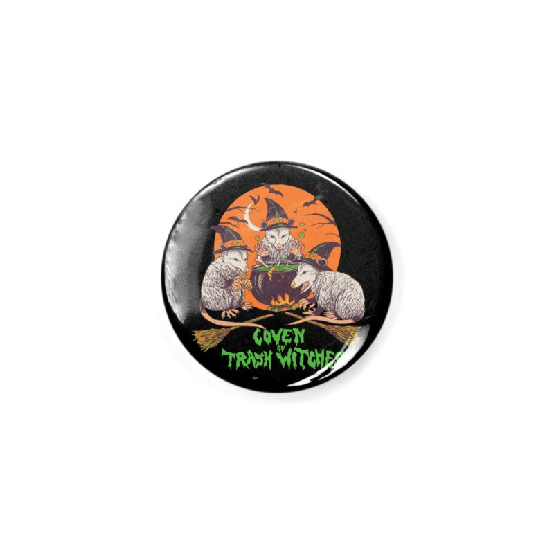 Coven Of Trash Witches Accessories Button by Hillary White