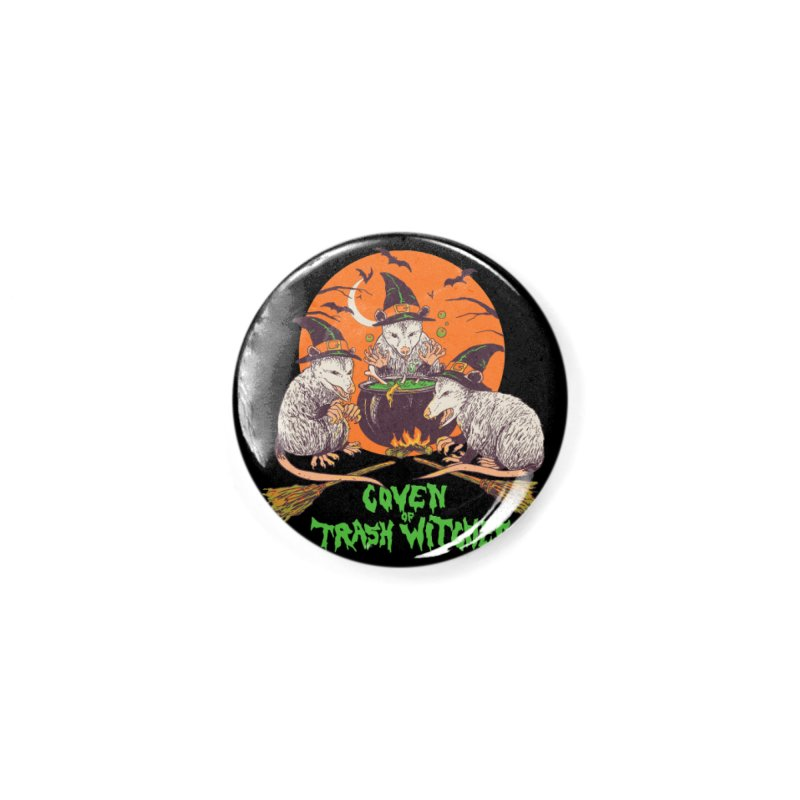 Coven Of Trash Witches Accessories Button by Hillary White Rabbit