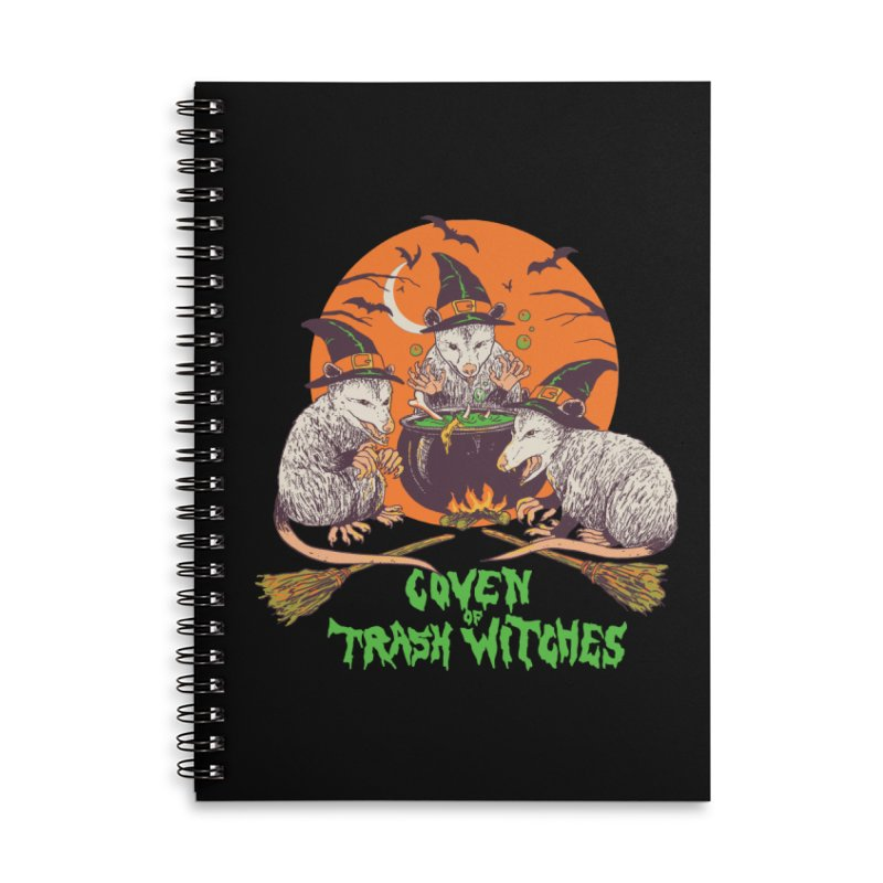 Coven Of Trash Witches Accessories Lined Spiral Notebook by Hillary White